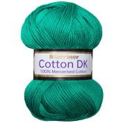 Marriner Mercerised 100% Cotton Double Knit | DK Yarn/Cotton | Azure