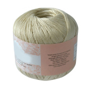 Mercerized Cotton Cord Thread Yarn, 50g