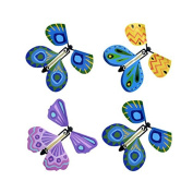 Merssavo Toy Magic Butterfly Fly Paper and Plastic Gift for Kids Colour Random