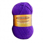 Celine lin One Skein Thick Wool Economy Hand knitting Yarn 100g,Purple