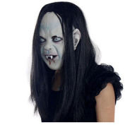 VWH Zombie Latex Mask Halloween Scary Horror Toy Party Cosplay Ghost Mask For Child Adult