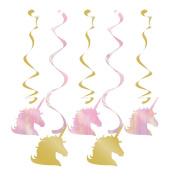 Unicorn Sparkle Dizzy Danglers Assorted
