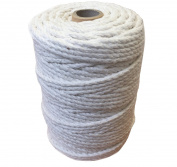 Macrame Craft Cord Rope 3mm and 6mm 100% Natural Cotton 1KG Reel