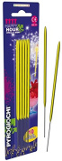 15.5cm Bright Yellow Sparklers - 10 Sparkers
