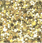 Chunky & Fine glitter fabric sheets x 1 for Hair bow making templates and other crafts