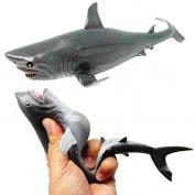 20cm Squeezy Stretchy Shark Sensory Toy