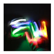Lalang LED Colourful Finger Gloves Light Show Gloves