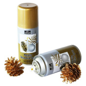 Metallic Paint Spray Lacquer Crafts Christmas Decorative - Silver Gold Bronze (Gold - Spray Paint