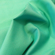 Klona Poplin Cotton Fabric, 147cm Width, 10 colour options sold by the metre, Free Delivery - Aqua Green
