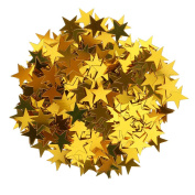MagiDeal 6/10mm 15g Sparkle Star Glitter Confetti Crafts Wedding Engagement Christmas Table Sprinkles Festival Party Supplies - Gold, 10mm