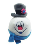 Hallmark Gifts Fluffball Frosty The Snowman Stuffed Plush Hanging Christmas Ornament Toy