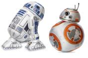 Disney R2D2 and BB-8 Plush - Star Wars - Mini Bean Bag - 20cm