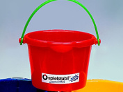 The Fuchs Fuchs ' bucket (small)-is a well-established manufacturer Fuchs (Fuchs) keep making Germany plastic toy buckets. Put approximately 1.25 L of water.