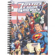 Justice League Black Double Spiral Notebook A5