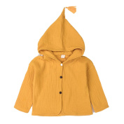 Originaltree Fashion Baby Girl Coat Jacket Tassel Hooded Button Toddler Hooded Outwear