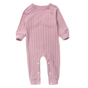 Nuohuilekeji Toddler Baby Boy Girl Long Sleeve Romper Angel Wing Jumpsuit One-Piece Clothes