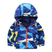 JoyJay Infant Baby Girls Boys Printed Dinosaur Hooded Zip Coat Cloak Jacket Thick Warm Coat