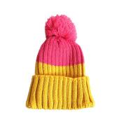 Bestanx Girls Boys Winter Hat Woollen Caps Baby Warm Knitting Hat Caps