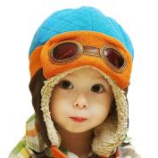 Bestanx Winter Warm Cap Hat Baby Boys Girls Toddler Kids Pilot Earflap Soft Hat 6M-4Y