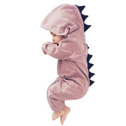 Originaltree Baby Boy Girl Jumpsuit Hooded Romper Dinosaur Costume for Newborn Infant Toddler climbing clothes