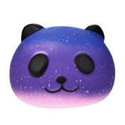 Pochers® Starry Galaxy Cute 10cm Panda Baby Cream Scented Squishy Slow Rising Squeeze Kids Toy