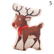 CHINA UK 1pc festival decoration Christmas Theme Pillow Plush Toy Santa Claus Snowman cushion