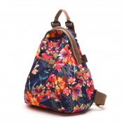 YINGER Women Oxford Cloth Backpack Fashion High Capacity Multifunction
