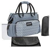 Badabulle Boho Changing bag, Grey