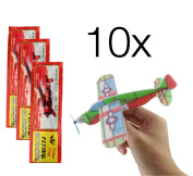 Party Favours party bag fillers - 10x gliders Styrofoam / gliders / gliders / gliders / Styrofoam For children's birthday for boys and girls from TK-Gruppe