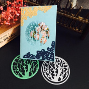 Janly® Christmas Halloween Paper Decor Cutting Dies Stencil Scrapbooking DIY Handcrafts 12 Styles