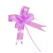 12mm Gold Stripe Butterfly Pull Bows x10! Pullbow Gift Wrap Buy 2 Get 1 FREE![27124887688-7,Lilac]