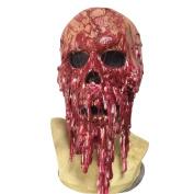 Amur Leopard Latex Latex Creepy Scary Halloween Blood Skull Mask Fancy Dress Cosplay Costume Decoration