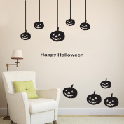 OverDose Halloween Stickers Home Household Mural Decor Decal PVC Wall Sticker 80 x 100cm