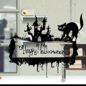 OverDose Halloween Stickers Home Household Mural Decor Decal PVC Wall Sticker 67 x 58cm