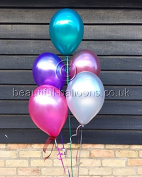 15 x Beautiful Balloons Baroque Halloween Shades