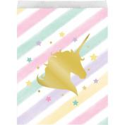Unicorn Sparkle Paper Treat Bag Large Foil Stamp