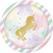 Unicorn Sparkle Dinner Plate Foil Stamp