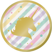 Unicorn Sparkle Luncheon Plate Foil Stamp