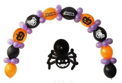 Happy Halloween Balloon Kit Party Decorations Arch Banner Chain Latex Assorted