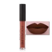 Xshuai FOCALLURE New Fashion Waterproof Long-Lasting Matte Liquid Lipstick Cosmetic Sexy Lip Gloss Kit for Women