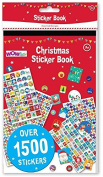 WOW 1500 Christmas Stickers Book Childrens Activity Stocking Filler