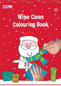 WOW Wipe Clean Colouring Book for Christmas Activity - Great Stocking Filler, Party Bag Filler or Favour