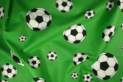 Football, print, Green, 140 cm