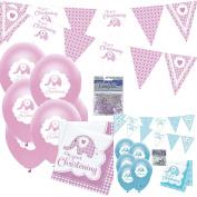 Christening Decorations Girl Kit