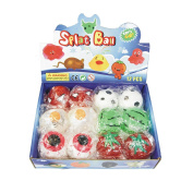 DX9 12 Assorted Smash It Splatter Splat ball Stress Relief Soft Ball PartyToy Funny