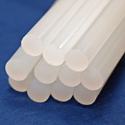 24 x Adhesive Hot Melt Glue Stick Refills 11mm Diameter 100mm Length Hobby Craft Tool DIY