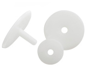 Soft Toy Joints 35mm, pk of 5, plastic with plastic washers