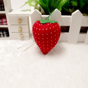 Waterstone Strawberry Pincushion, Mini DIY Craft Sewing Craft Kit