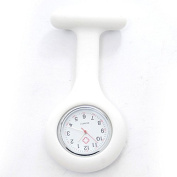 Merssavo Silicone Nurse Watch Light Brooch Tunic Pocket FOB Medical Clock Timer