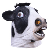 Animal Masks Halloween Mask for Adults Kids, Cows Mask for Halloween, Theme Parties, Family Gatherings, Clothing Parties